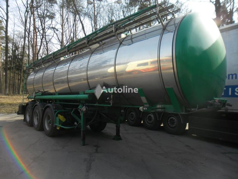 cisterna za prevoz hemikalija DROMECH LB4H