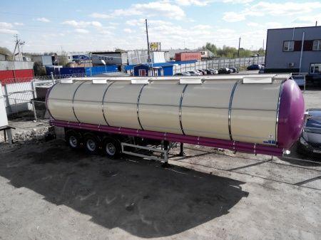 cisterna za prevoz hrane FELDBINDER (ID-4095) polupricep cisterna pishchevaya