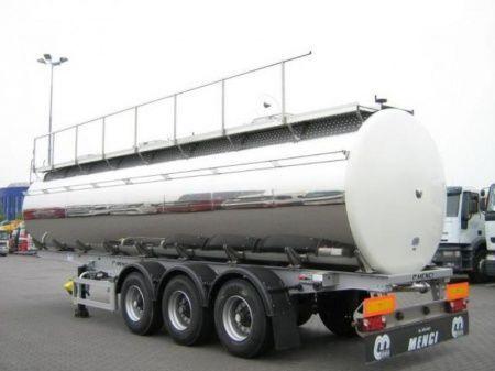 nova cisterna za prevoz hrane SANTI SANTI-MENCI pishchevaya cisterna BPW ECO-AIR SANTI-MENCI