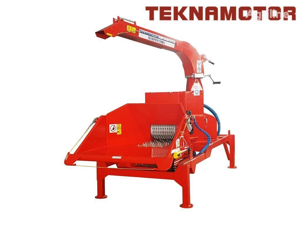 nova drobilica za drvo TEKNAMOTOR Skorpion 250 EG