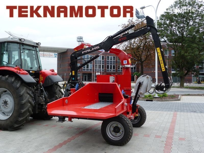 nova drobilica za drvo TEKNAMOTOR Skorpion 250 RG/90