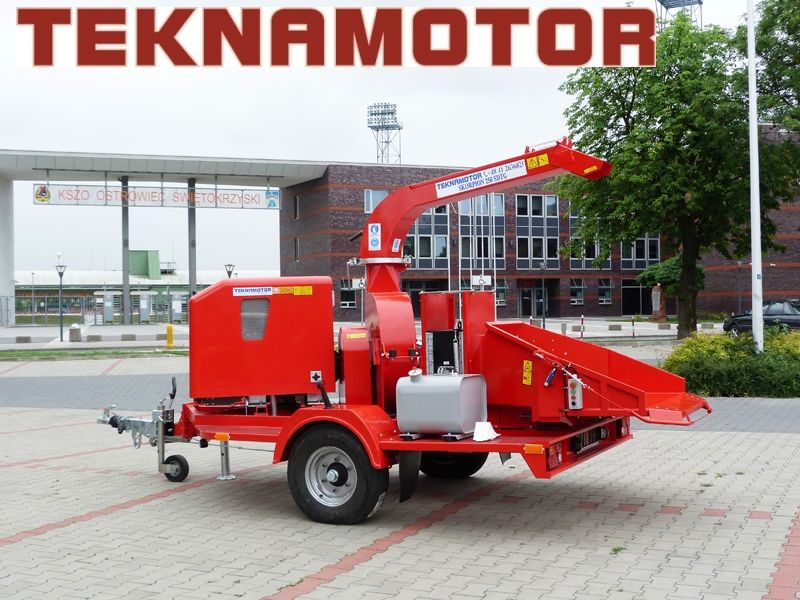 nova drobilica za drvo TEKNAMOTOR Skorpion 250 SDTG