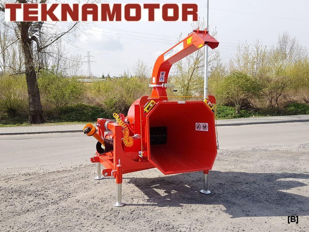 nova drobilica za drvo TEKNAMOTOR Skorpion 250R/90