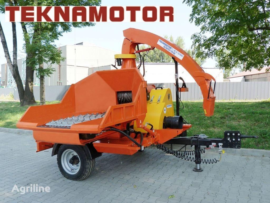 nova drobilica za drvo TEKNAMOTOR Skorpion 350 RB