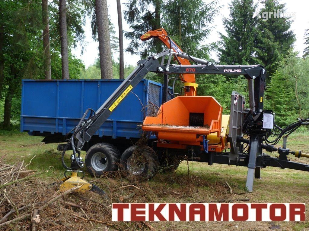 nova drobilica za drvo TEKNAMOTOR Skorpion 350 RBP