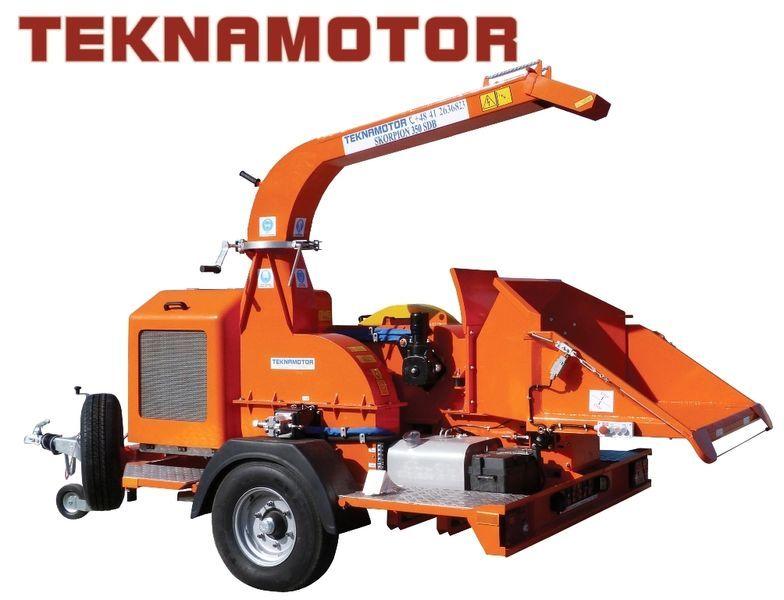 nova drobilica za drvo TEKNAMOTOR Skorpion 350 SDB