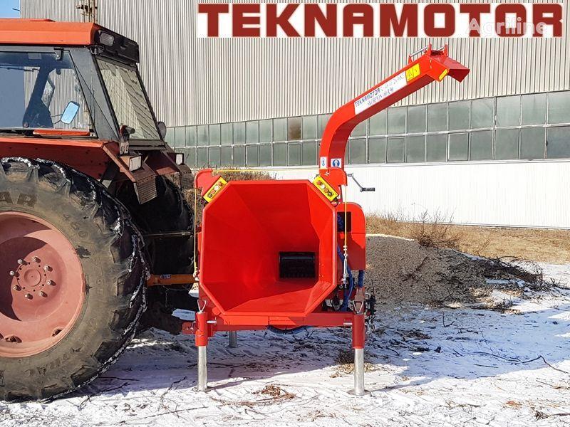 nova drobilica za drvo TEKNAMOTOR Skorpon 160 R/90