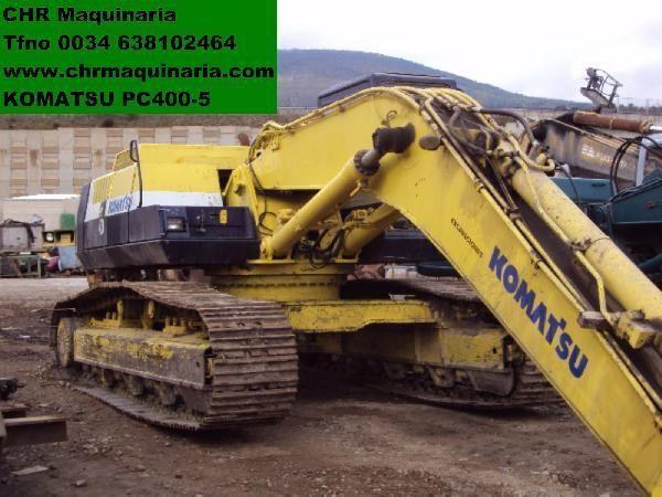 bager guseničar KOMATSU PC400-5
