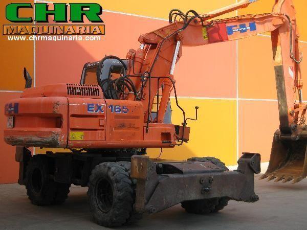 bager točkaš FIAT-HITACHI EX165W.3