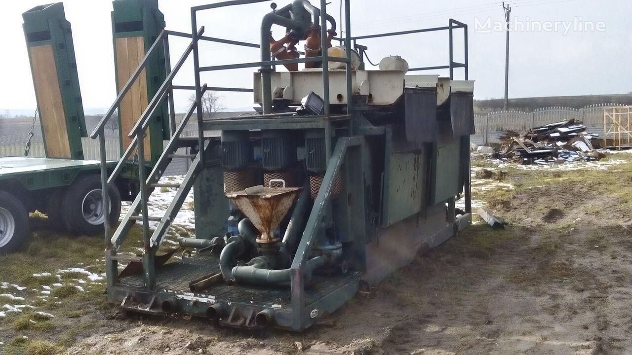 bušaće postrojenje VERMEER  Mud recycling unit Basic Fabrication MCS 260