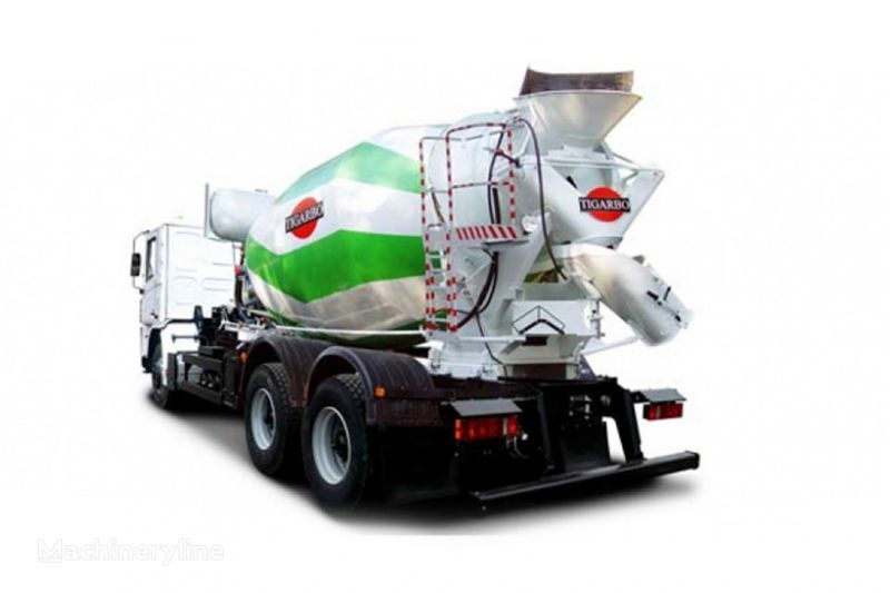 kamion s mešalicom za beton KRAZ P23.2