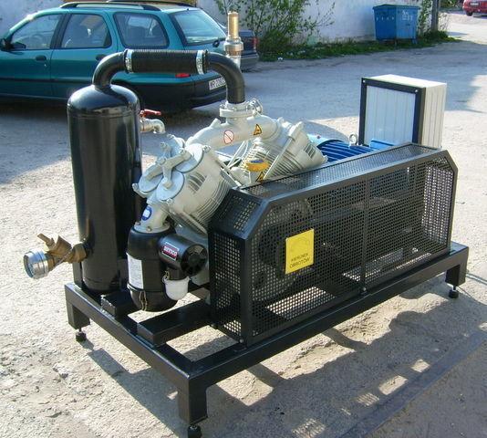 kompresor SB1 BETICO z silnikiem elektrycznym