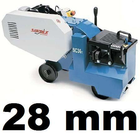 nova mašina za armaturu SIRMEX SC32 T NOŻYCE GILOTYNA PRĘTÓW DRUTU ZBROJENIA 28mm