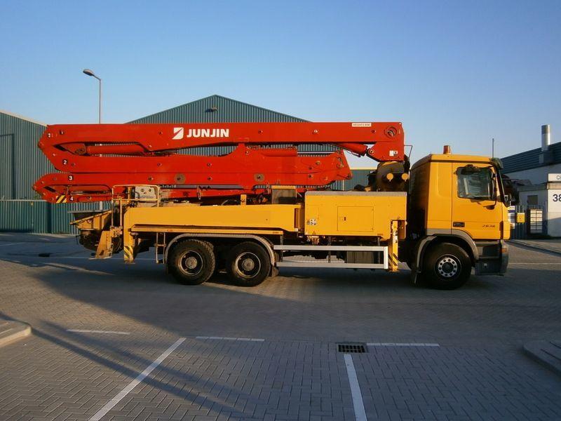 pumpa za beton MERCEDES-BENZ 2636, JUN-JIN 37/4M