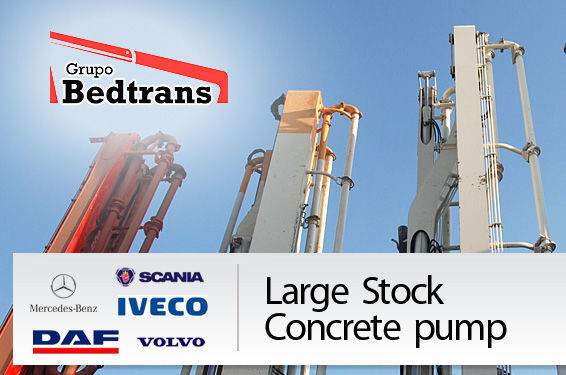 pumpa za beton PUTZMEISTER THE BEST STOCK THE CONCRETE PUMPS IN SPAIN BEDTRANS