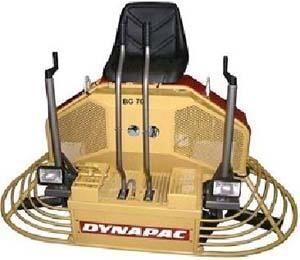 nova rotaciona glačalica DYNAPAC BG70
