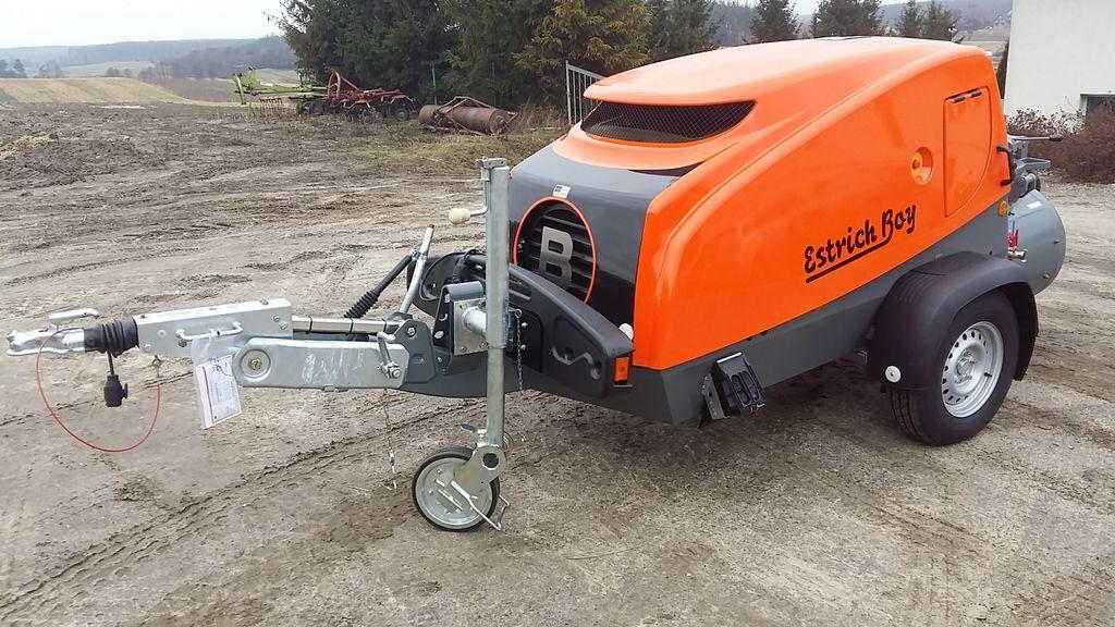 nova stacionarna betonska pumpa BRINKMANN EB 450  PROMOCJA
