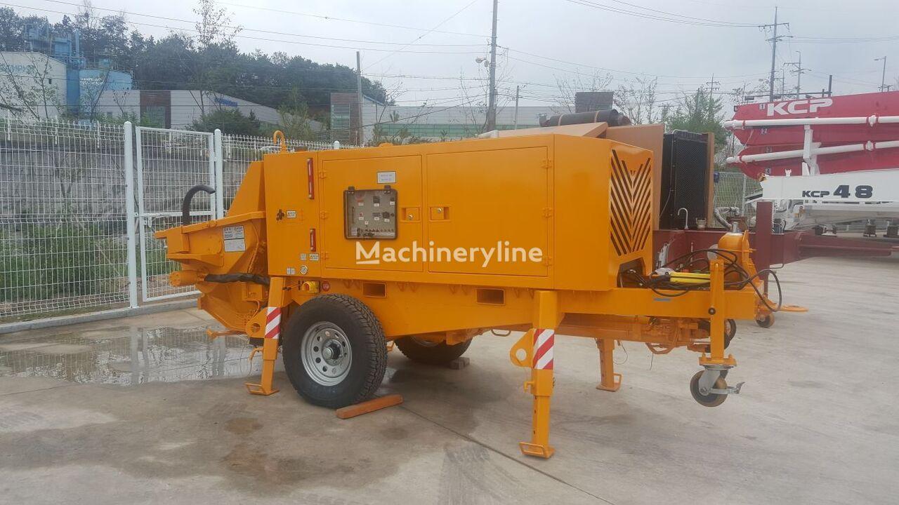 nova stacionarna betonska pumpa KCP KTP 1160