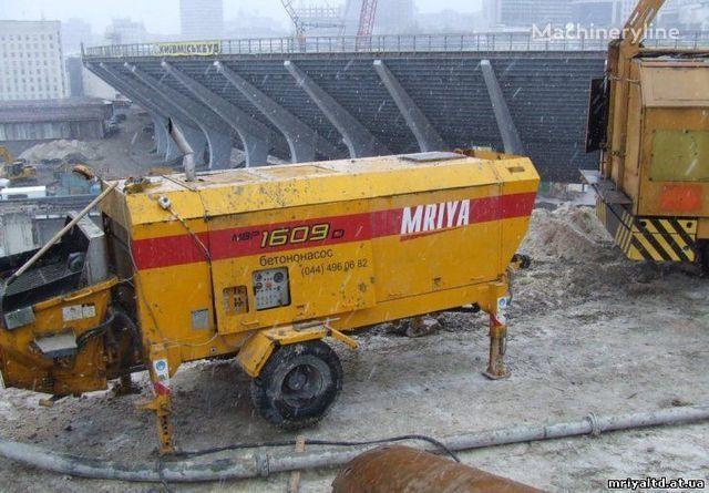 stacionarna betonska pumpa MRIYA PRODAZhA stacionarnogo betononasosa