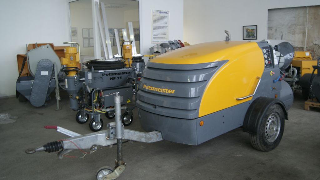 stacionarna betonska pumpa PUTZMEISTER M 740 D