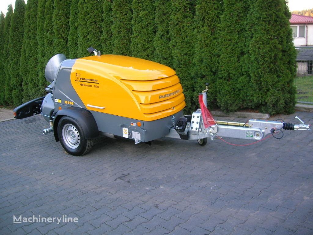 nova stacionarna betonska pumpa PUTZMEISTER M740/4 NEW GENERATION