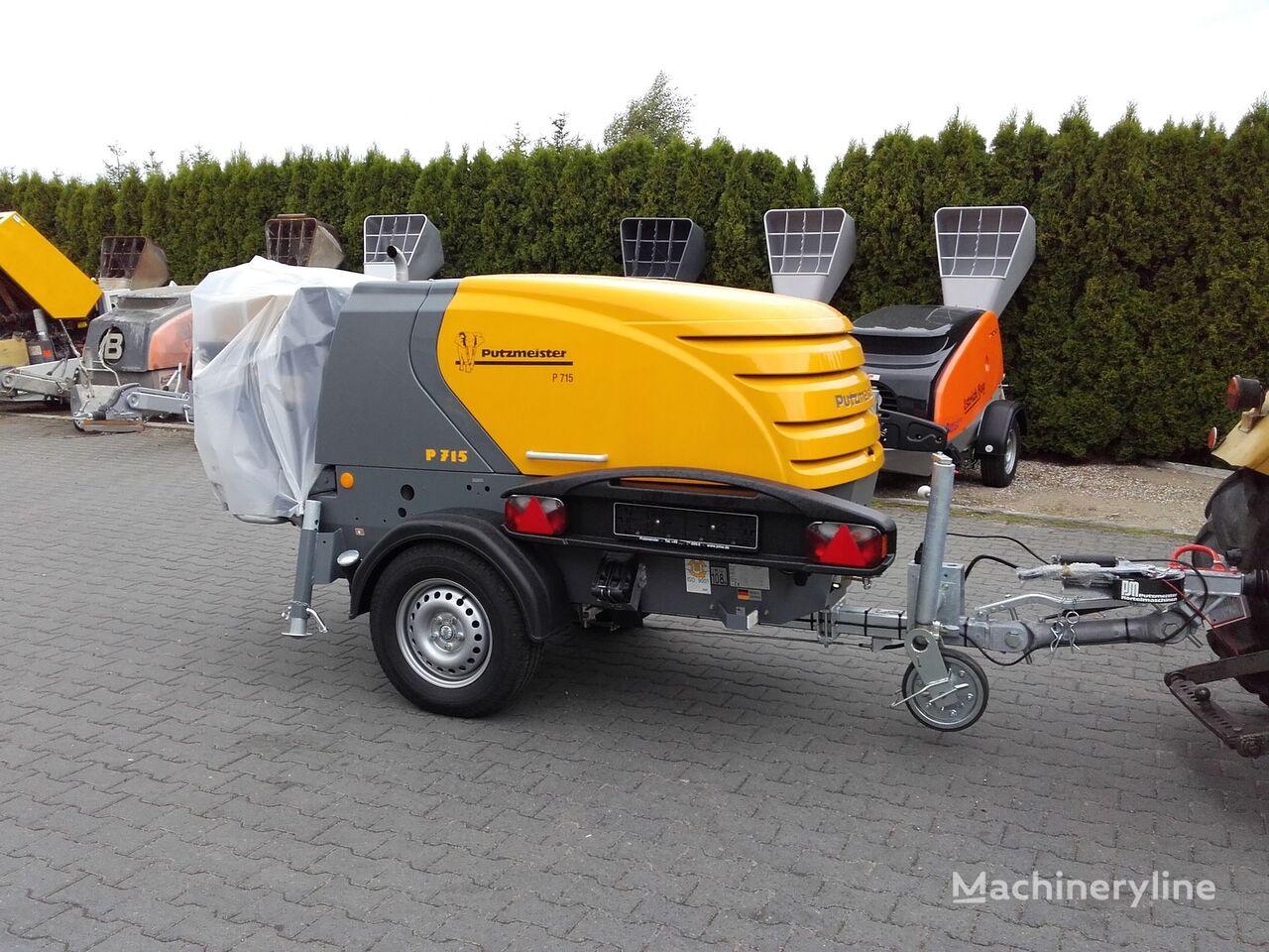 nova stacionarna betonska pumpa PUTZMEISTER P-715