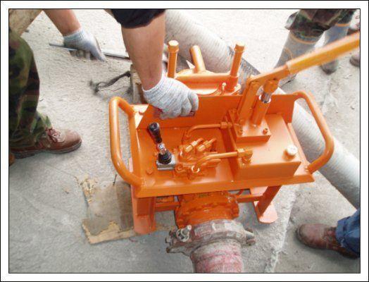 nova stacionarna betonska pumpa Gidravlicheskie zadvizhki betonovoda (Yuzhnaya Koreya)
