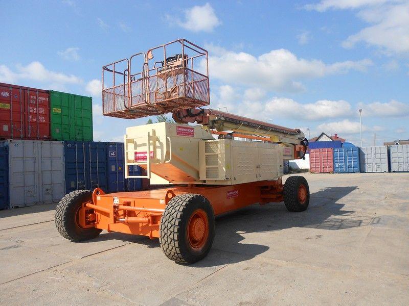 teleskopska dizalica JLG 150HAX, Diesel, 4x4, 47.7m