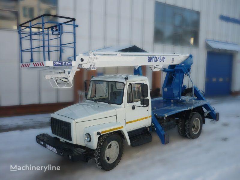 auto dizalica s korpom GAZ 3309