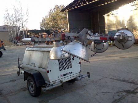 generator AMIDA AL4000 WIEŻA OŚWIETLENIOWA