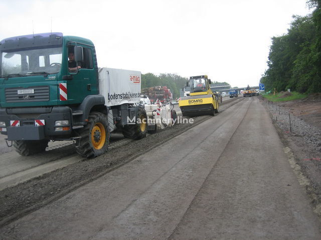 mašina za reciklažu asfalta MAN amag Polymer Recycler mit Wirtgen WS 250