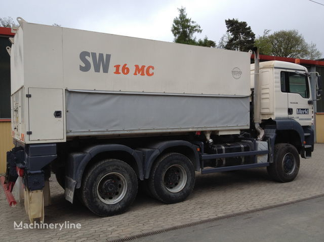 mašina za reciklažu asfalta WIRTGEN Spreader Streumaster SW 16 MC