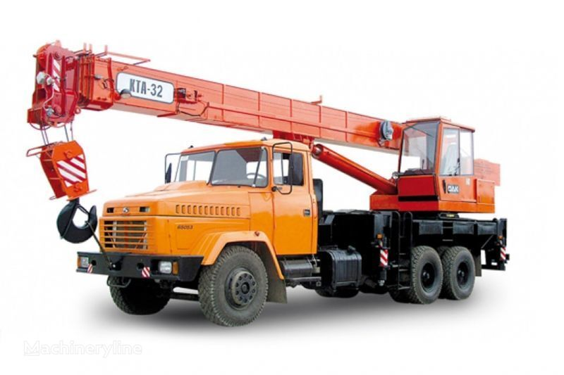 pokretna dizalica KRAZ 65053 (KTA-32)