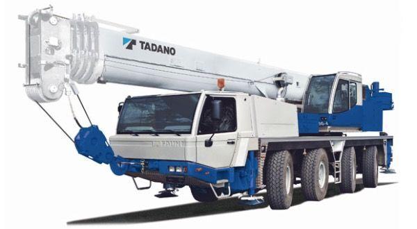 pokretna dizalica TADANO Faun ATF65G-4
