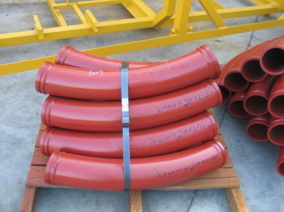nova pumpa za beton Komplektuyushchie k betononasosam - zamki, povoroty, setki, shary