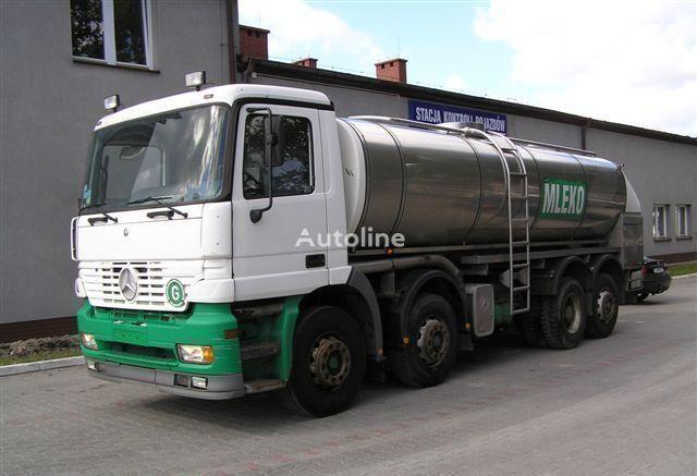 autocisterna za mleko MERCEDES-BENZ ACTROS 3340