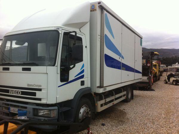 kamion furgon IVECO 120 E 23