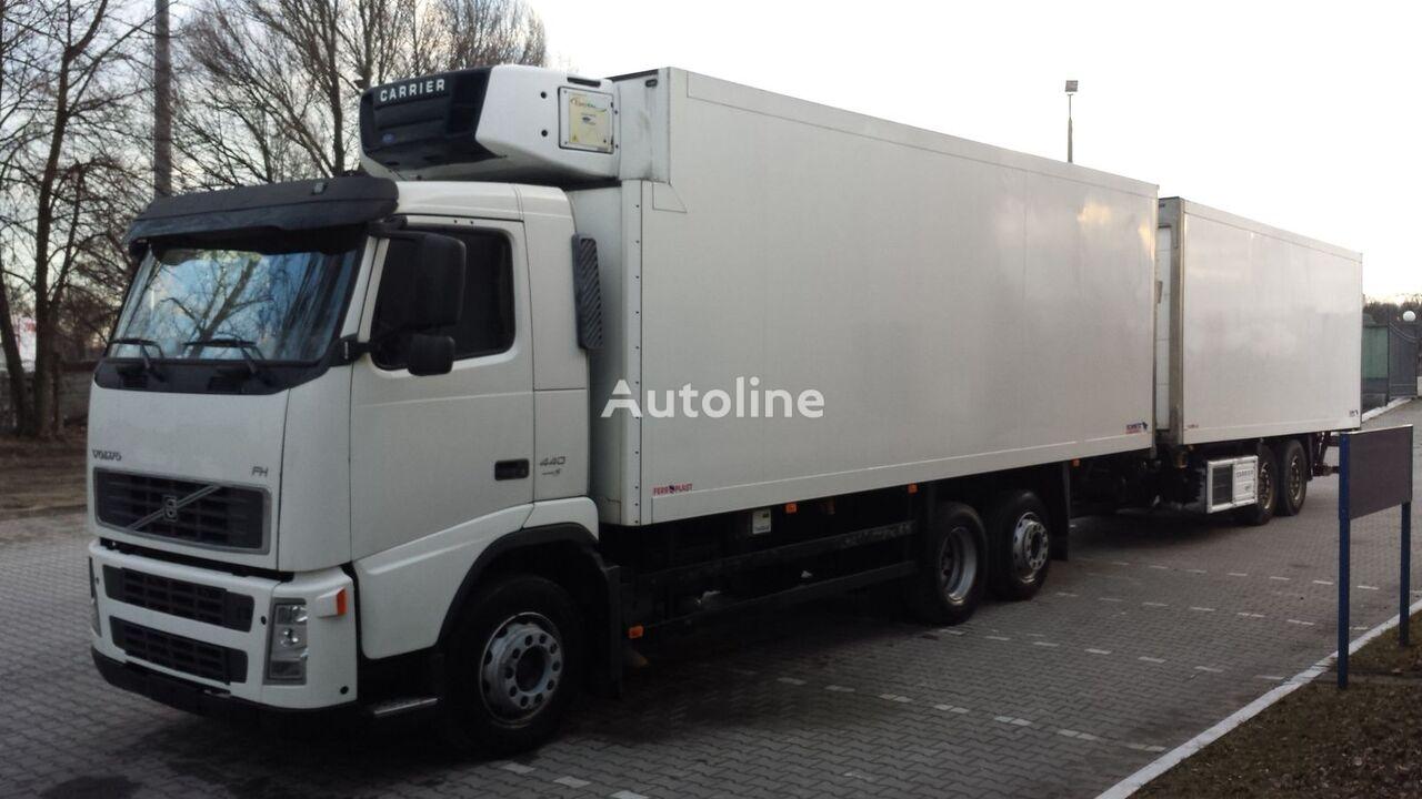 kamion hladnjača VOLVO FH440 Chłodnia + Przyczepa Tandem 2 x winda ! 12.2008 36EP Euro5 + prikolica hladnjača