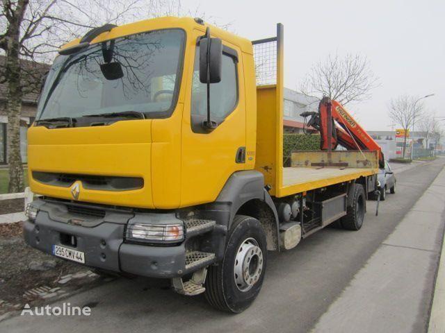 kamion platforma RENAULT KERAX 340 PALFINGER PK - 12080