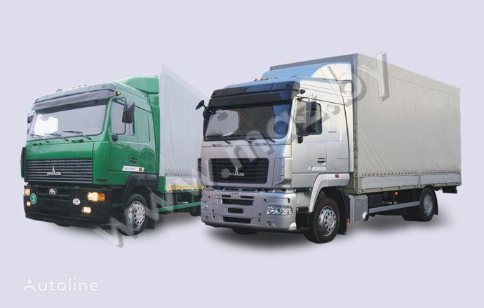 kamion s ceradom MAZ 5340 (19, E9)