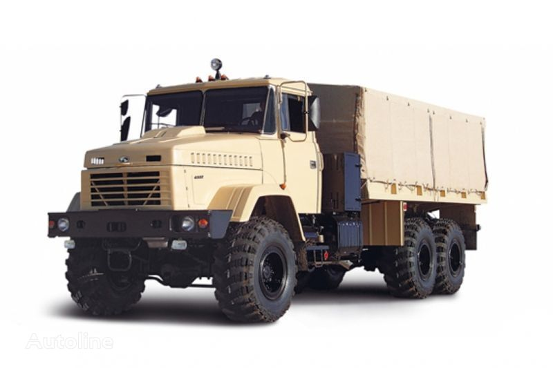 kamion s ravnom platformom KRAZ 6322