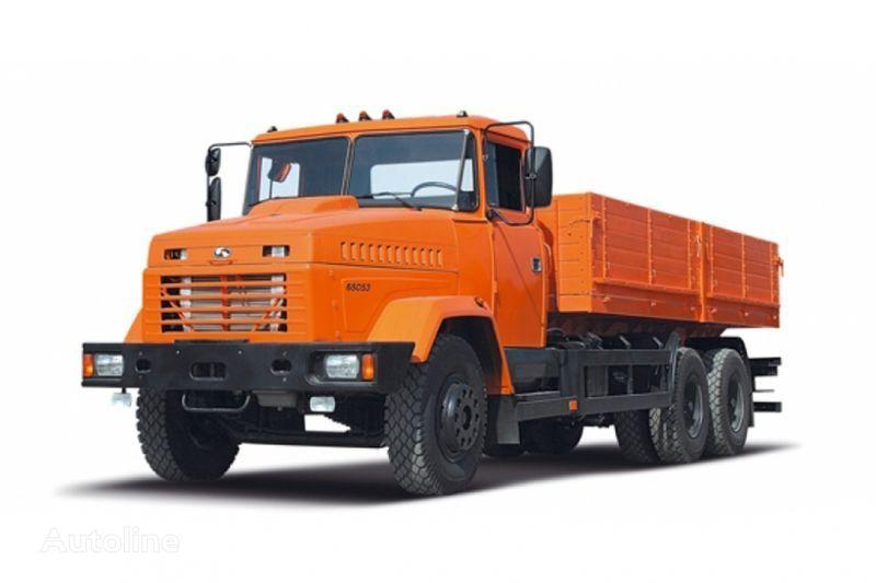 kamion s ravnom platformom KRAZ 65053