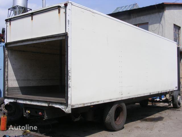 kamion s ravnom platformom Ostatní prachotěsná nástavba MONTEX