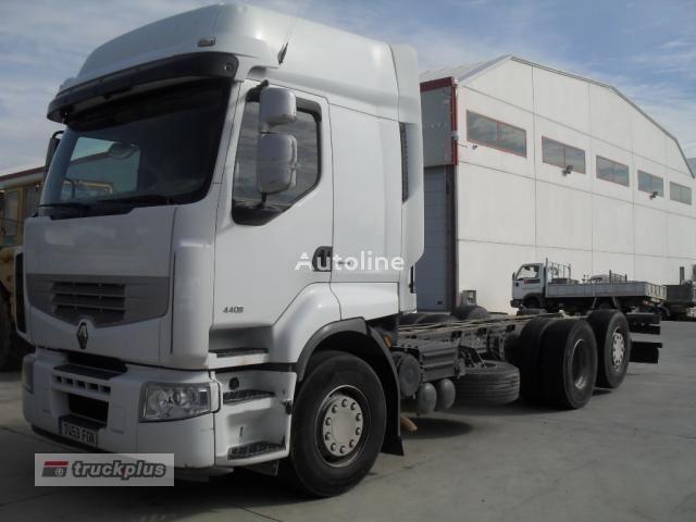 kamion-šasija RENAULT PREMIUM 440