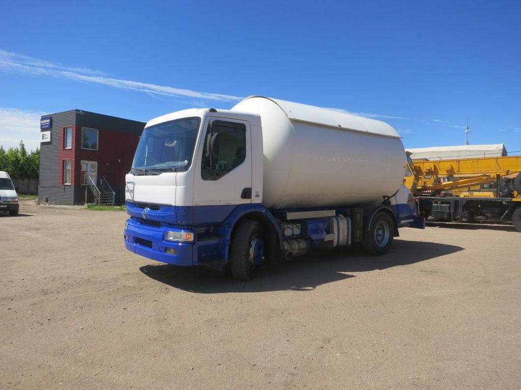 kamion za transport gasa RENAULT Premium 210
