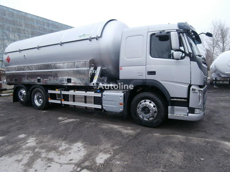 kamion za transport gasa VOLVO + prikolica