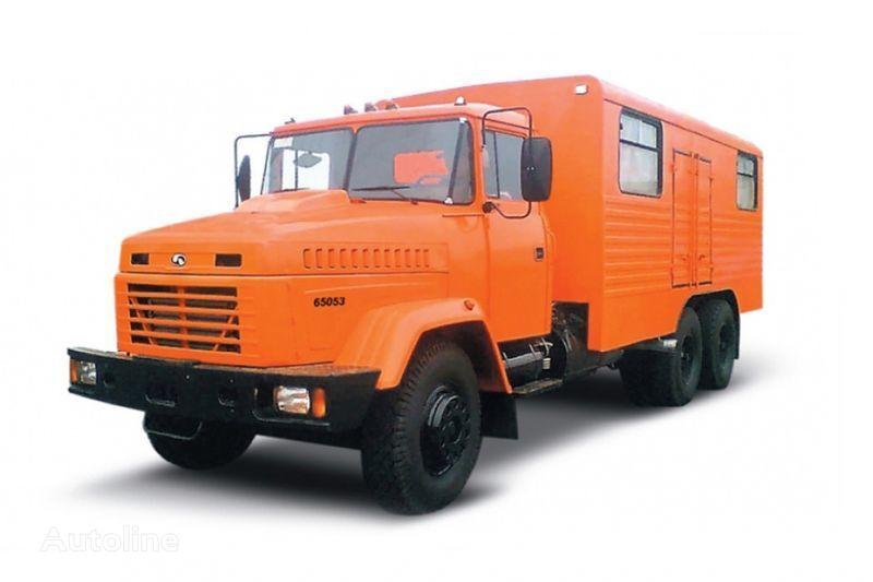 vojni kamion KRAZ 65053 masterskaya