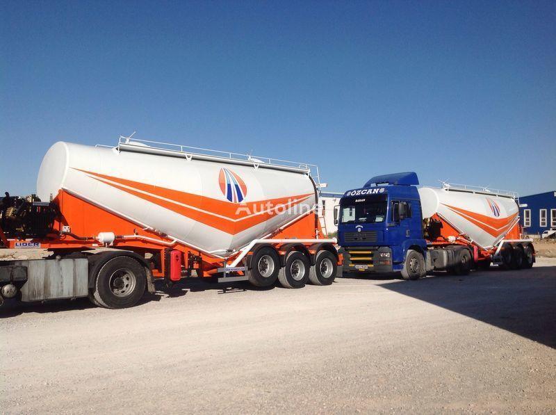 novi kamion za prevoz cementa LIDER 2018 MODEL CEMENT TANKER