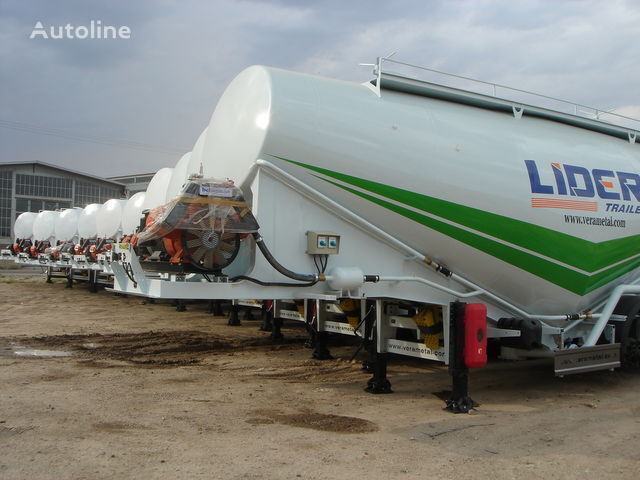kamion za prevoz cementa LIDER NEW ciment remorque 2017 YEAR (MANUFACTURER COMPANY)