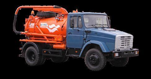 autofekalac ZIL Ilososnaya mashina KO-510D